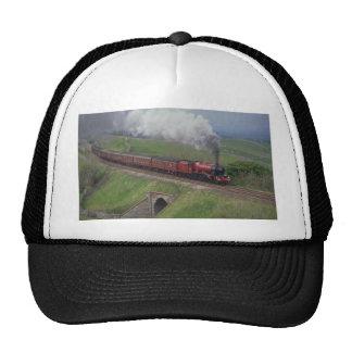 Steam train cap
