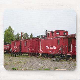 Steam train carriage accommodation, Arizona Mouse Pad