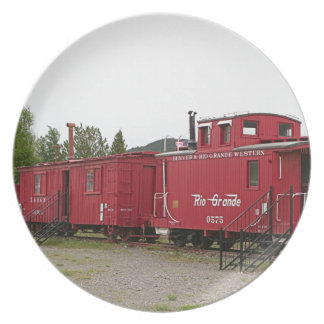 Steam train carriage accommodation, Arizona Plate