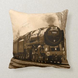 Steam Train cushion