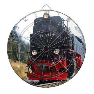Steam train dart boards