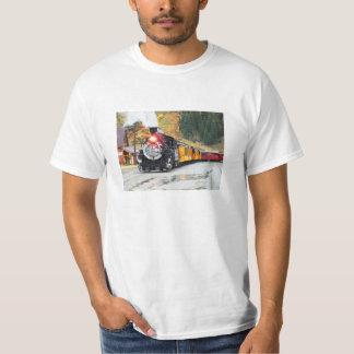 Steam train in Silverton, USA T-Shirt