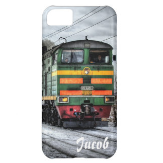 steam train locomotive customizable iphone case
