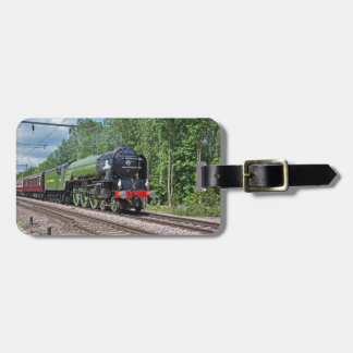 Steam train Luggage Tag