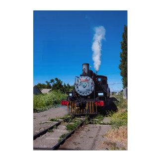 Steam Train On La Trochita Acrylic Wall Art