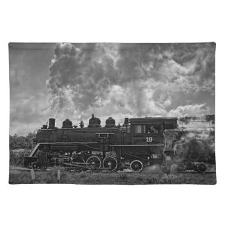 STEAM TRAIN PLACEMAT