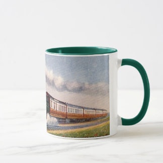 Steam Train - The Fishguard Boat Express Mug