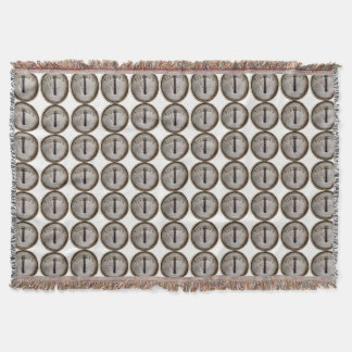 STEAM TRAIN THROW BLANKET