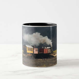 Steam Train Two-Tone Coffee Mug
