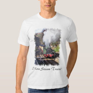 STEAM TRAINS TEE SHIRT