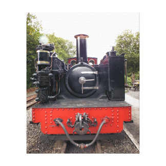 STEAM TRAINS UK GALLERY WRAPPED CANVAS