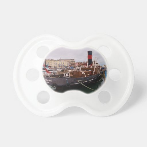 Steam Tug Cervia Baby Pacifiers