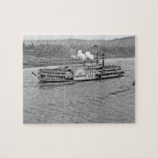 Steamboat 'Cincinnati' 1906 Puzzle