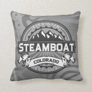 Steamboat Grey Pillow