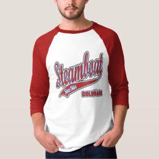 Steamboat Grunge Baseball Jersey T-Shirt