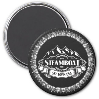 Steamboat Mountain Emblem Magnet