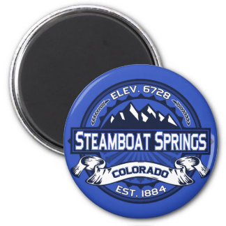 Steamboat Springs Color Logo Magnet
