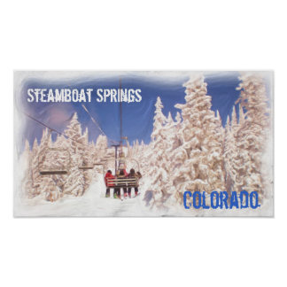 Steamboat Springs Colorado poster