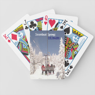 Steamboat Springs Colorado winter playing cards
