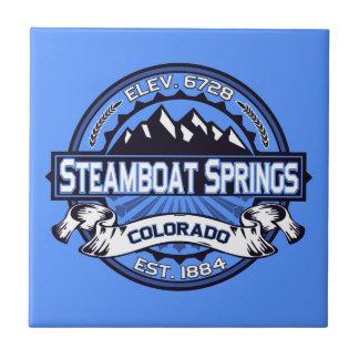 Steamboat Springs Logo Tile