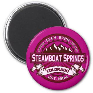 Steamboat Springs Raspberry Magnet