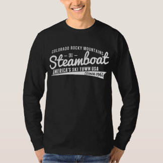 Steamboat Vintage White T-Shirt