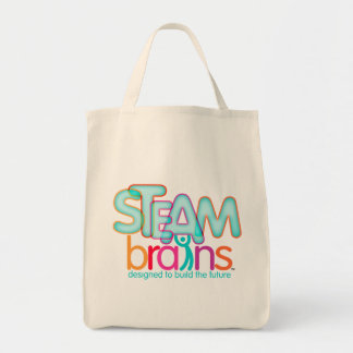 STEAMbrains Organic Grocery Tote Grocery Tote Bag