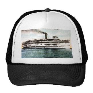 Steamer Americana, Crystal Beach Line Mesh Hats