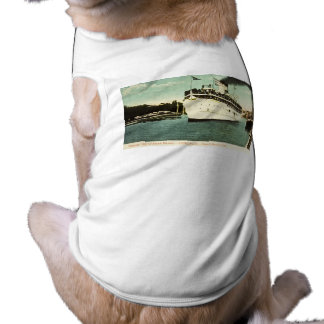 Steamer City of South Haven Great Lakes Sleeveless Dog Shirt