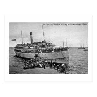 Steamer Dorothy Bradford, Provincetown, Mass. Postcard