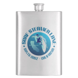 Steamer Lane Hip Flask