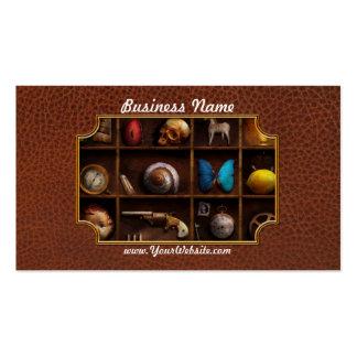 Steampunk - A box of curiosities Business Card Template