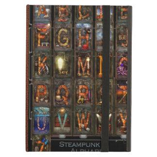 Steampunk - Alphabet - Complete Alphabet iPad Air Case