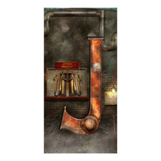 Steampunk - Alphabet - J is for Jet Pack Photo Cards