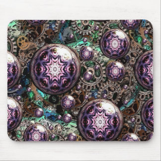 Steampunk and Gears Artful Oasis Mouse Pad