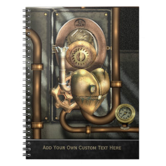 Steampunk At Heart Notebook
