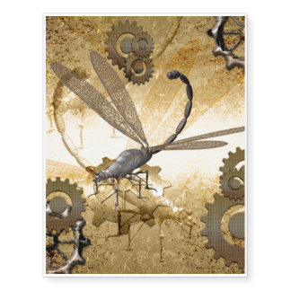 Steampunk, awesome dragonflies with gears