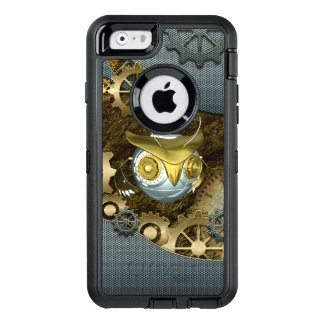 Steampunk, awesome   mechanical owl OtterBox iPhone 6/6s case