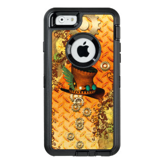 Steampunk, awesome steam hat OtterBox iPhone 6/6s case