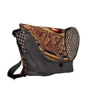 Steampunk, beautiful steam women commuter bag
