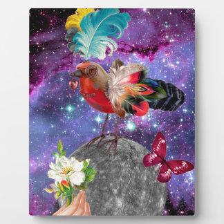 Steampunk Bird Plaque
