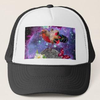 Steampunk Bird Trucker Hat
