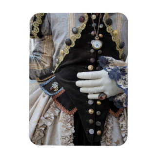Steampunk bodice, Carnival, Venice Rectangular Photo Magnet