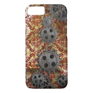 Steampunk Brocade and Gears 1 iPhone 7 Case
