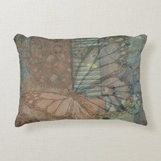 Steampunk Butterfly Bolts Pillow Case