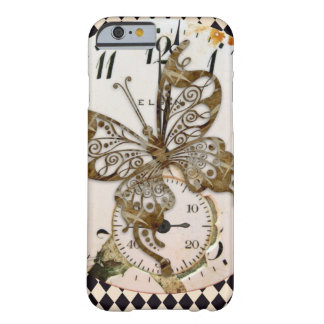 Steampunk Butterfly Round Barely There iPhone 6 Case