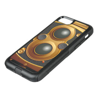 Steampunk Camera... OtterBox Commuter iPhone 8/7 Case