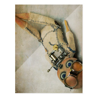 steampunk cards postcard