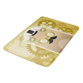 Steampunk+Cat Bath Mat