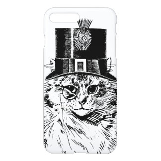 Steampunk Cat Kitty in a Top Hat iPhone 7 Plus Case